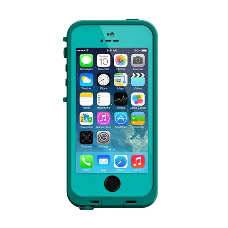 Lifeproof Teal Casing for iPhone 5 or 5s