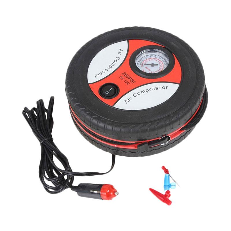 harga Air Compressor Tire Inflator Elektrik Pompa Ban Mobil Motor Portable Blibli.com