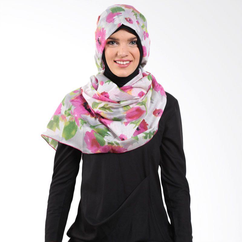 Aira Muslim Butik Ainaa AB.P-010 Pink Pashmina