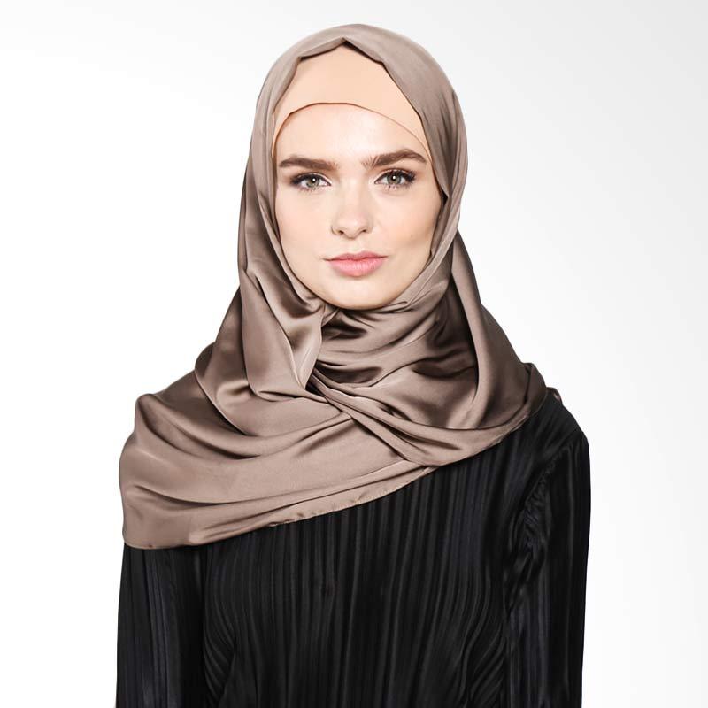 Aira Muslim Butik Kalila Pashmina AB.P-035 Hijab - Khaky