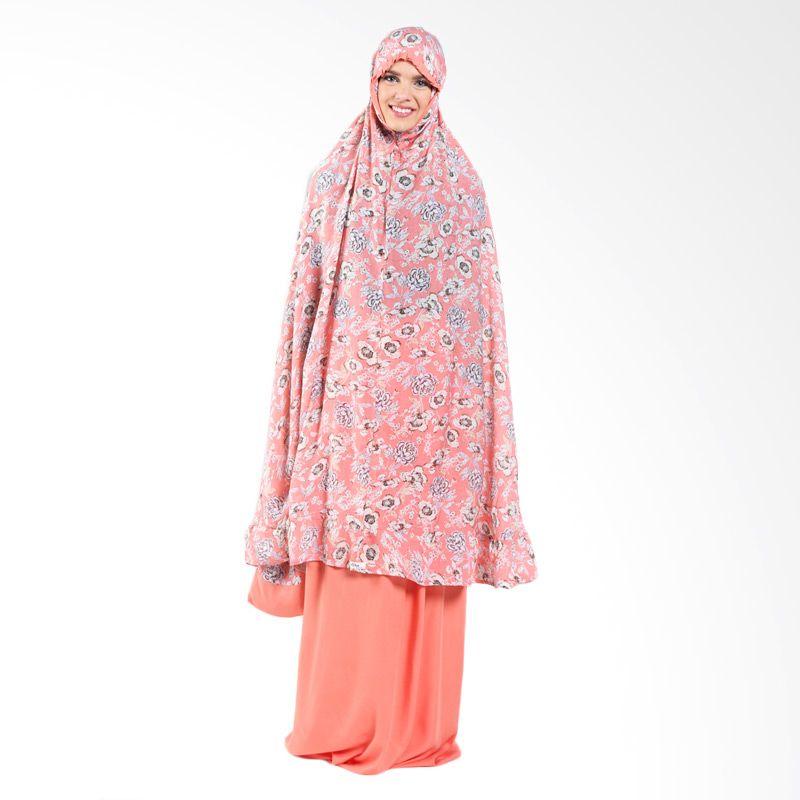 Aira Muslim Butik Rania AB.MK-003 Orange Mukena