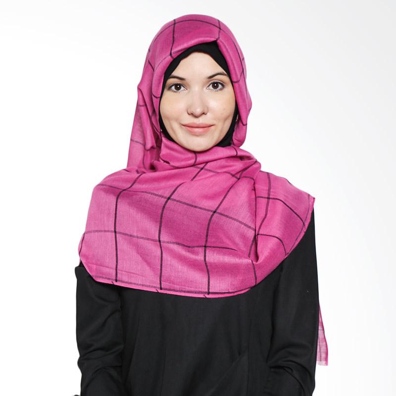 Aira Muslim Butik Rania Poly AB.P.029 Fanta Pashmina