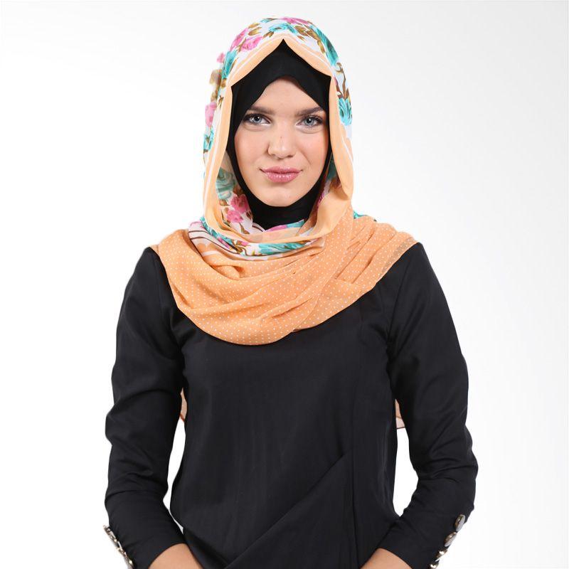 Aira Muslim Butik Sofie Rose AB.P-021 Brown Pashmina
