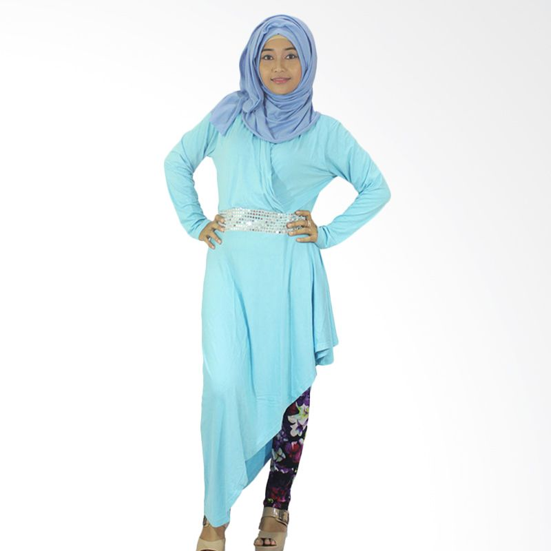 Berryblues 10 Light Blue Tunik Baju Menyusui