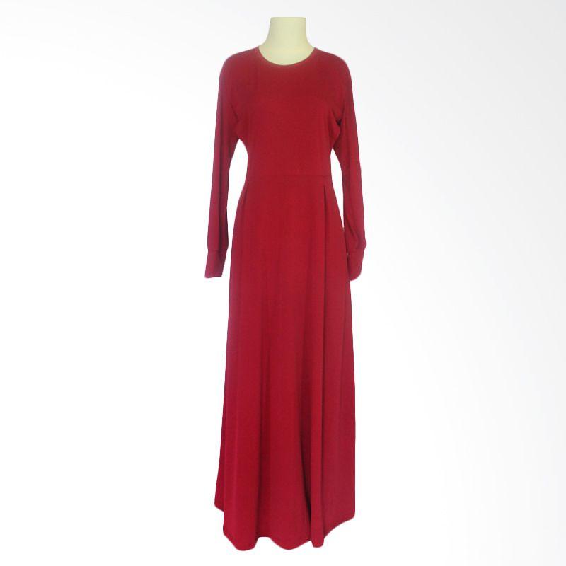 Berryblues Gamis Er 49 Merah Dress Menyusui