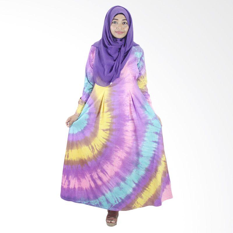 Berryblues Maxi Ver 09 Ungu Dress Menyusui