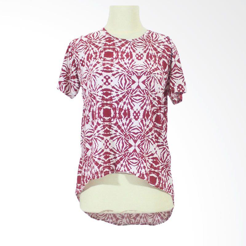 Berryblues Nursing Shirt Ver 13 Merah Baju Menyusui
