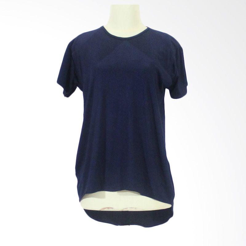 Berryblues Nursing Shirt Ver 13 Navy Baju Menyusui