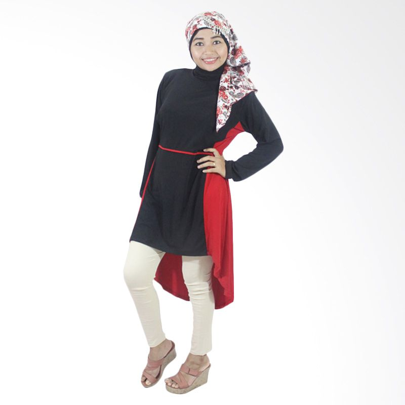 Berryblues Tunik Menyusui Ver 16 Merah Baju Menyusui