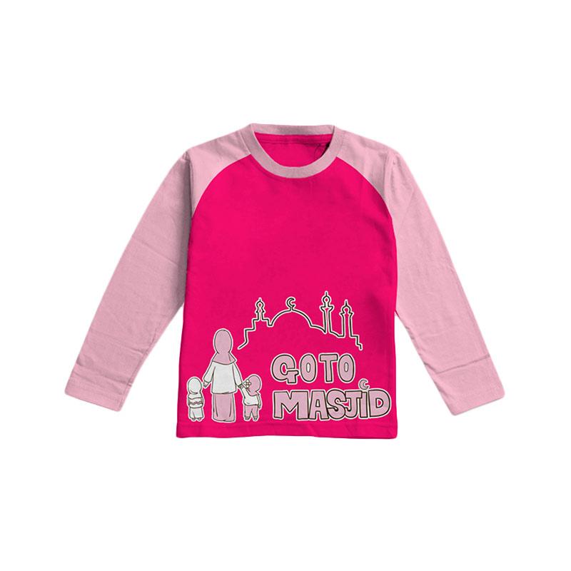 Aitana Kids Go To Masjid E AiK/16/002 Pakaian Anak Perempuan - Fanta