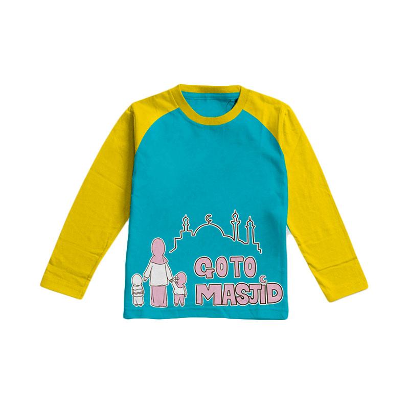 Aitana Kids Go To Masjid E AiK/16/002 Pakaian Anak  Perempuan - Tosca
