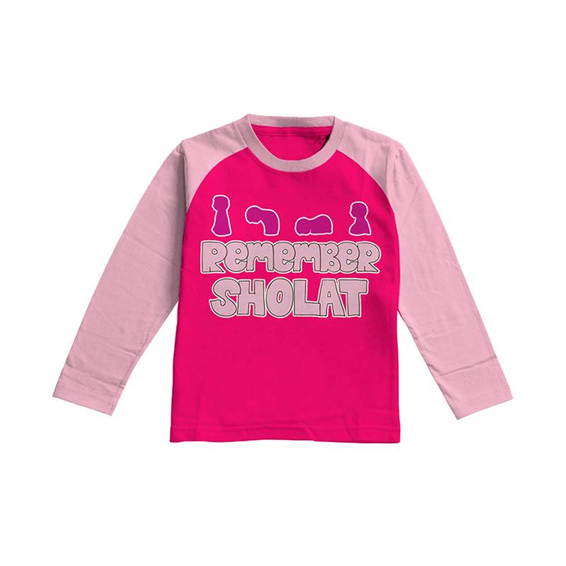 Aitana Kids AiK-16-003 Remember T-shirt Anak Perempuan - Fanta