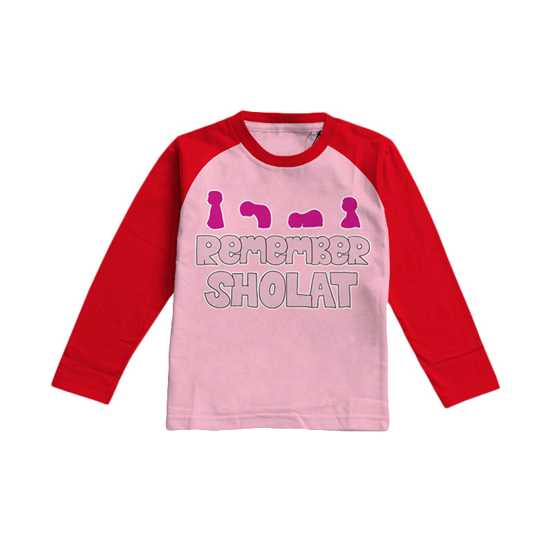 Aitana Kids Remember AiK-16-003 Atasan Muslim Anak Perempuan- Pink