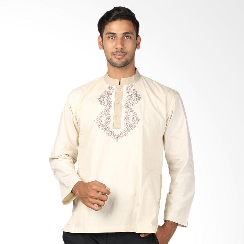Aitana Koko KK-MG-141109-LS Baju Muslim Pria - Cream