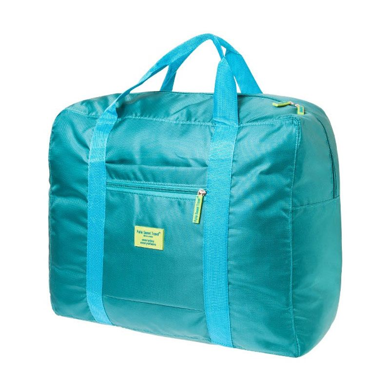 AIUEO Business Travel Foldable Bag Hijau