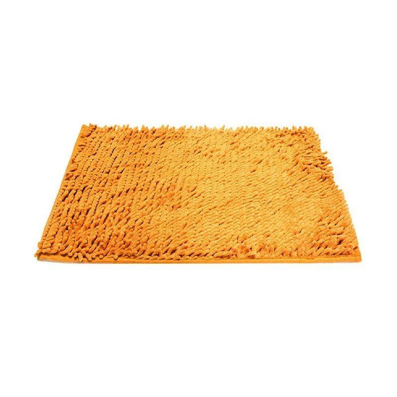 AIUEO Microfiber Light Brown Keset [40 x 60 cm]
