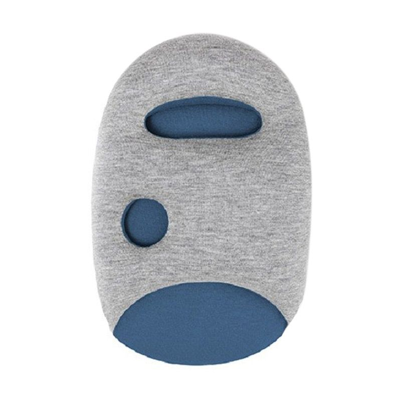 AIUEO Ostrich Blue Mini Pillow