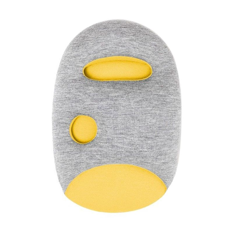 AIUEO Ostrich Yellow Mini Pillow