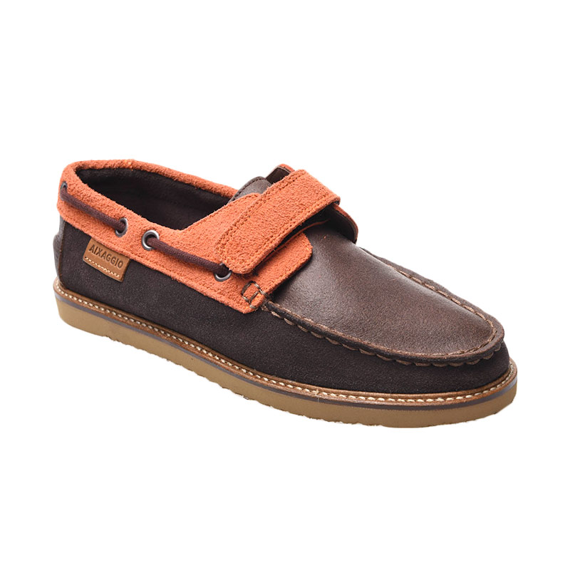 Aixaggio Aldebaran Brown Sepatu Anak