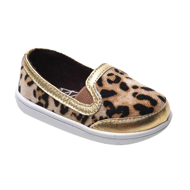 Aixaggio Dante Leopard Sepatu Bayi