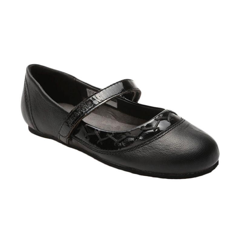 Aixaggio Ester Black Sepatu Anak Perempuan