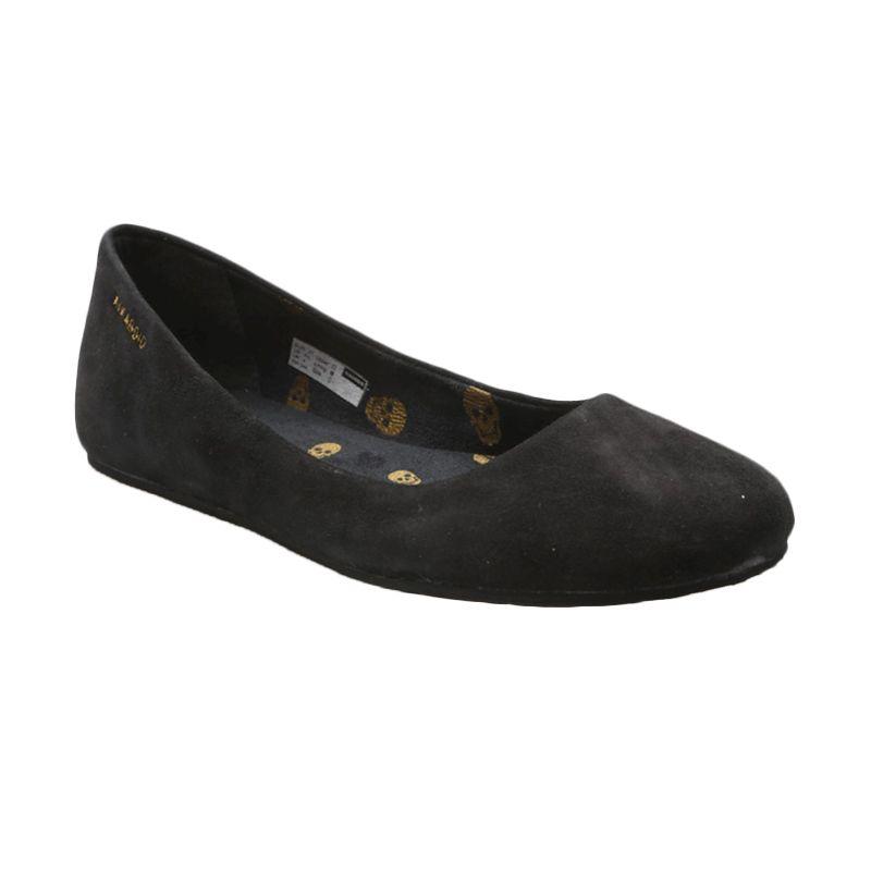 Aixaggio Live Black Sepatu Anak Perempuan