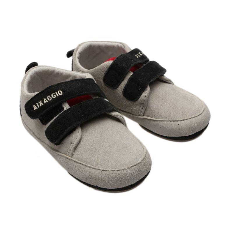 Aixaggio New Briton Grey Sepatu Bayi