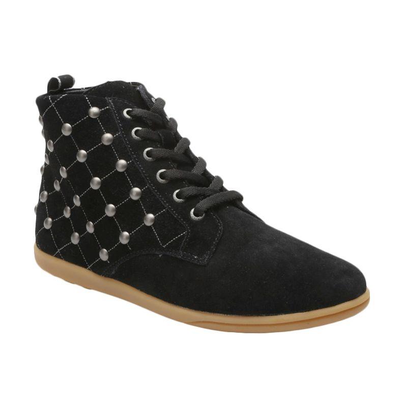 Aixaggio Richmond Black Sepatu Anak