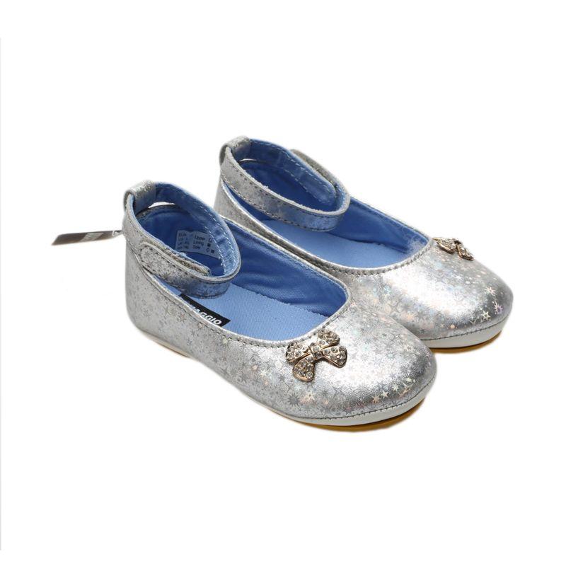 Aixaggio Silky Silver Blue Sepatu Bayi
