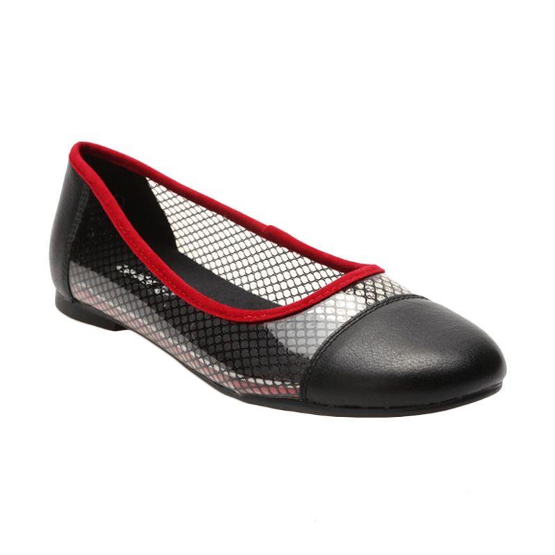 Aixaggio Snowball Black Sepatu Anak Perempuan