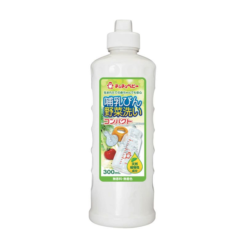 Chuchu Bottle and Vegetable Cleanser Cairan Pembersih [300 mL]