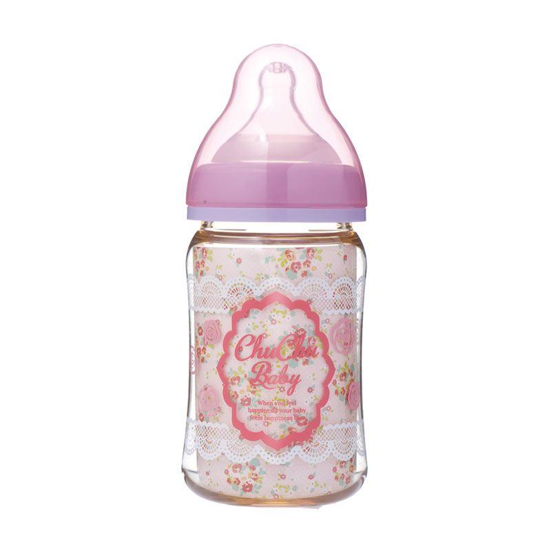 Chuchu Mamacawa Girls Baby Pink Botol Susu [160 mL]
