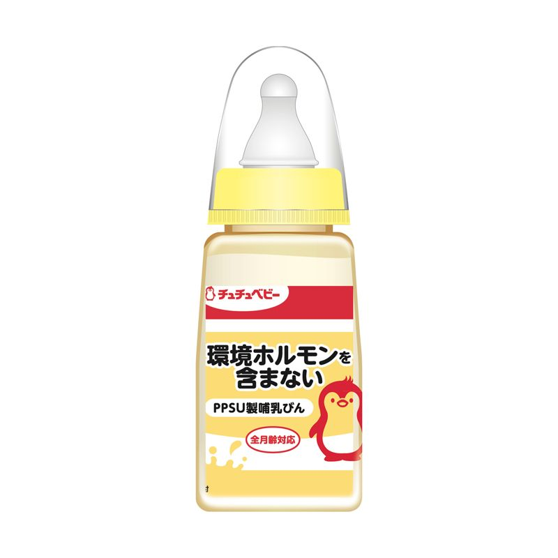CHUCHU PPSU Baby Yellow  Botol Susu [150 mL]