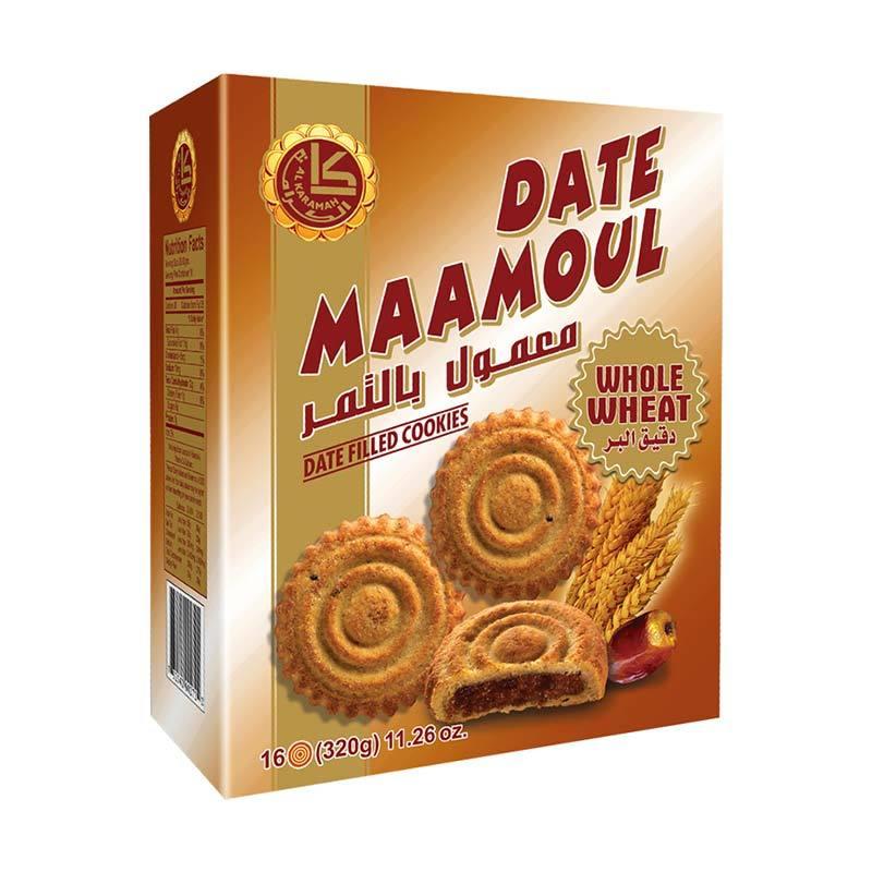 AL KARAMAH Date Maamoul Whole Wheat [320 gr]