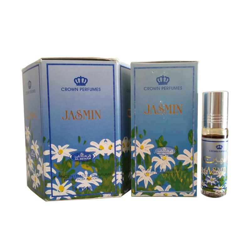 Jual Al Rehab Parfum Jasmin 6 Pcs Online