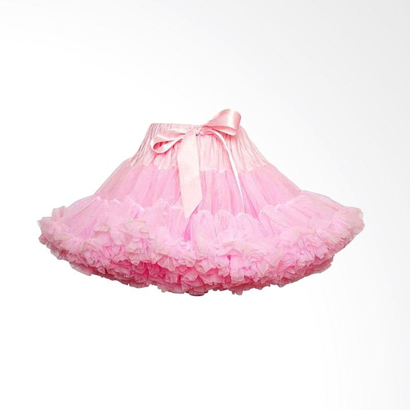 Allgirlicious Petti Pink Rok Anak