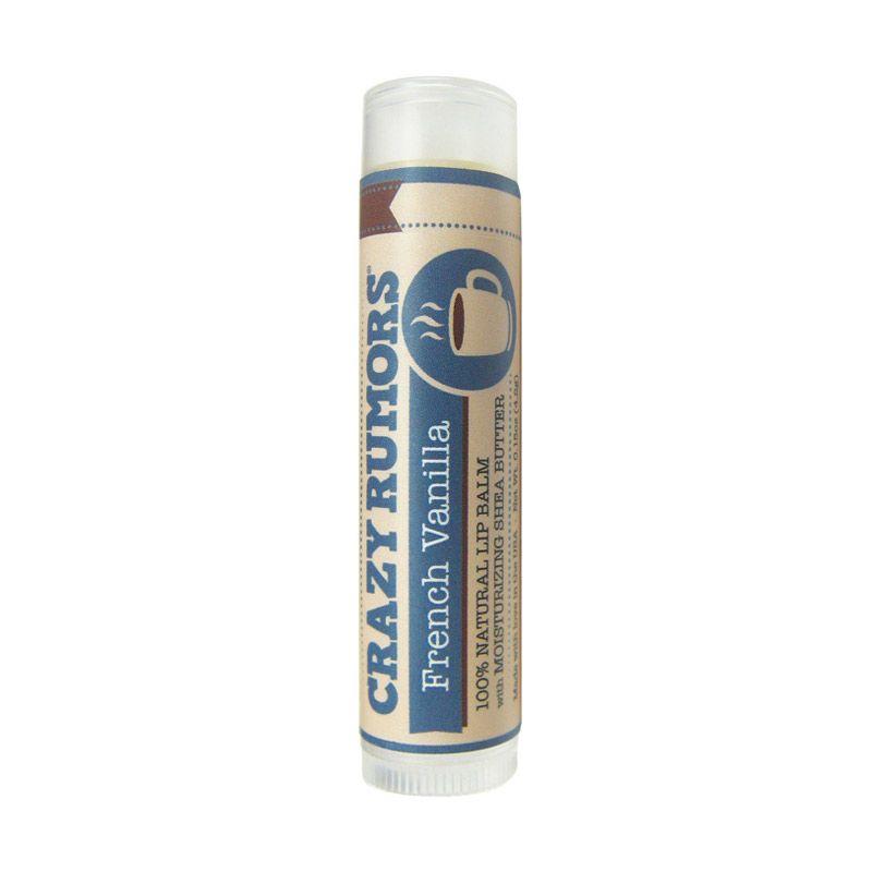 Crazy Rumors Organic Lip Balms French Vanilla
