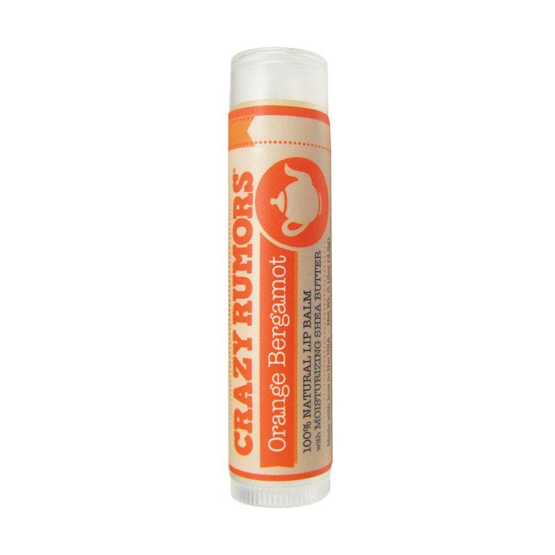 Crazy Rumors Organic Lip Balms Orange Bergamot