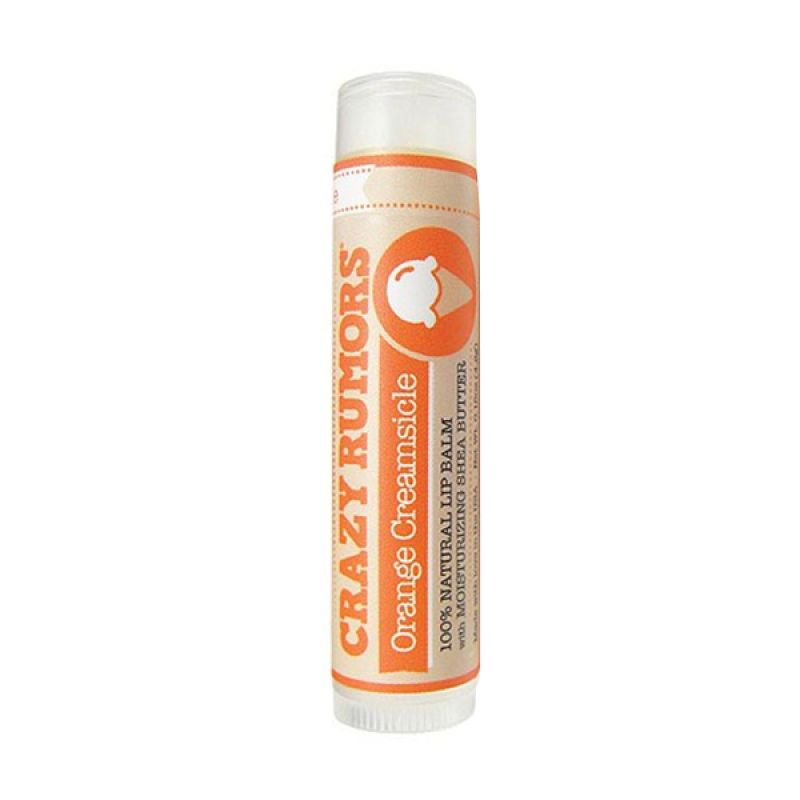 Crazy Rumors Organic Lip Balms Orange Creamsicle