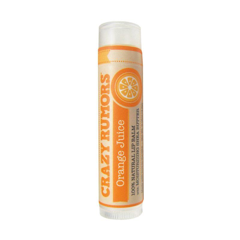 Crazy Rumors Organic Lip Balms Orange Juice