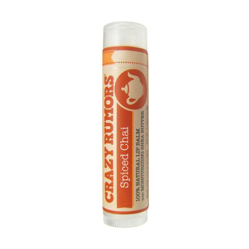 Crazy Rumors Organic Lip Balms Spiced Chai