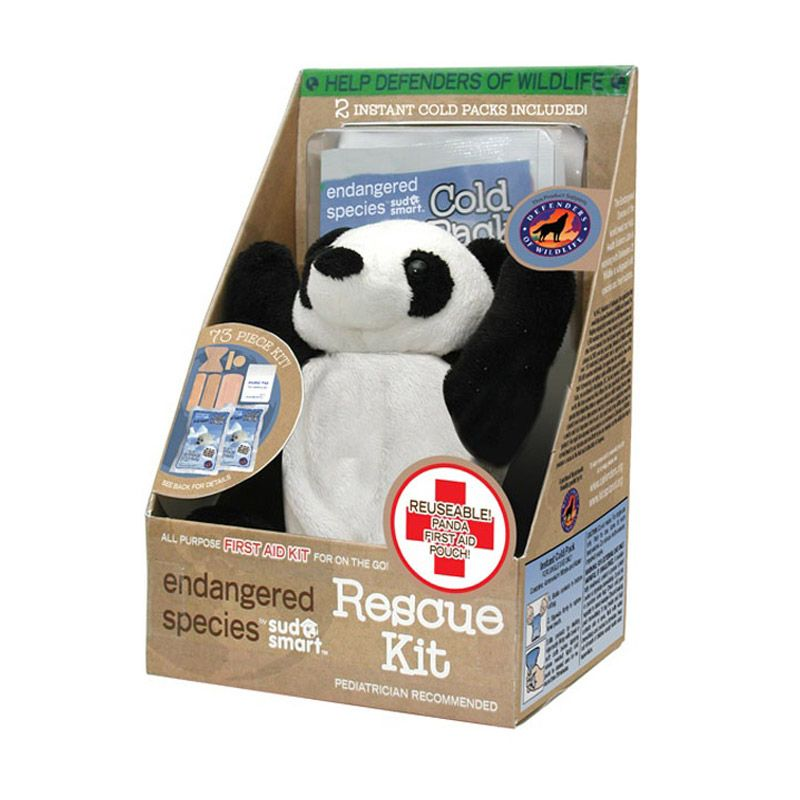 Endangered Species Panda First Aid Rescue Kit