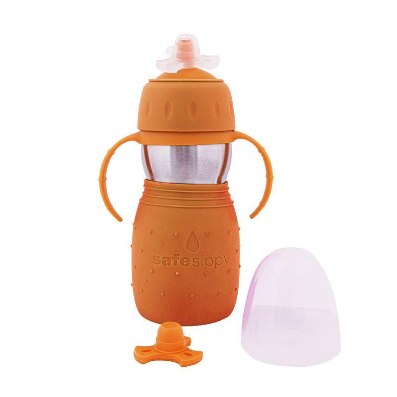 KidBasix Safe Sippy 2 330 ml Orange