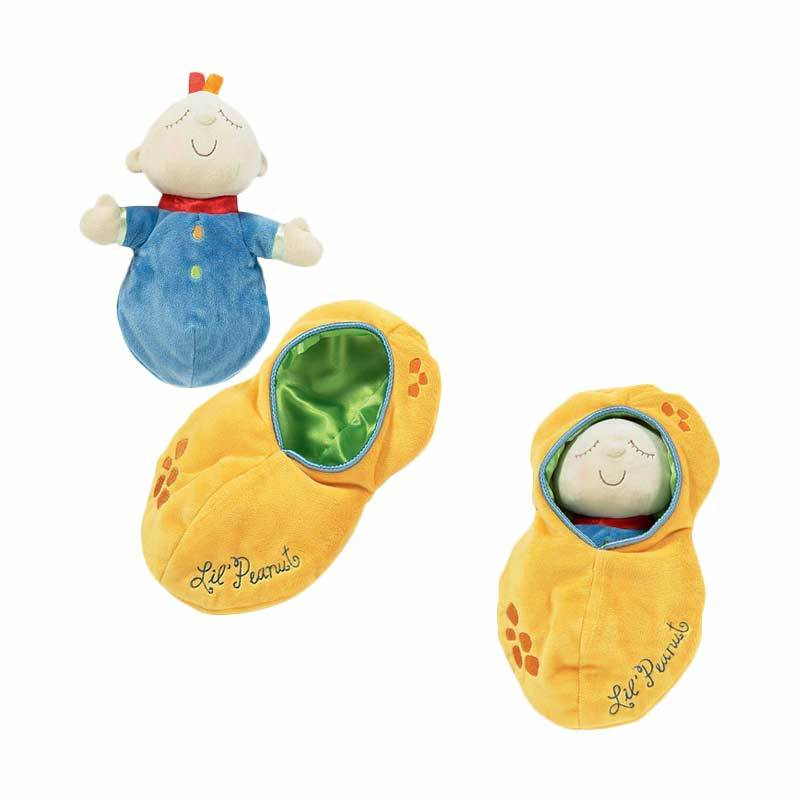 Manhattan Toy Snuggle Pods Peanut Doll - Mainan Boneka