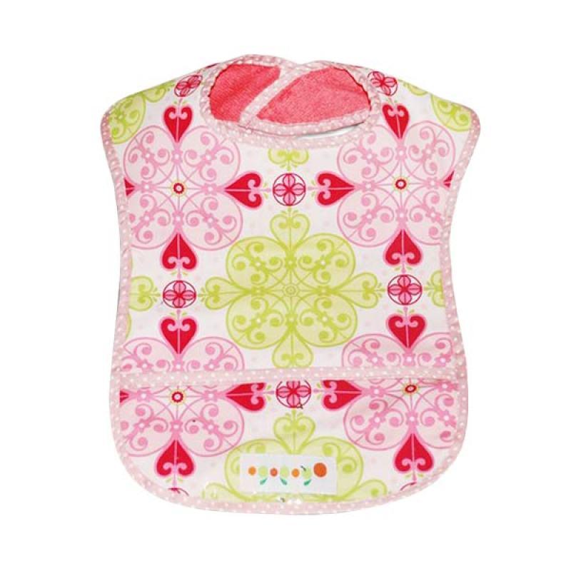 Ogopogo Dressy Droller Pocket Bib Pink Gothic