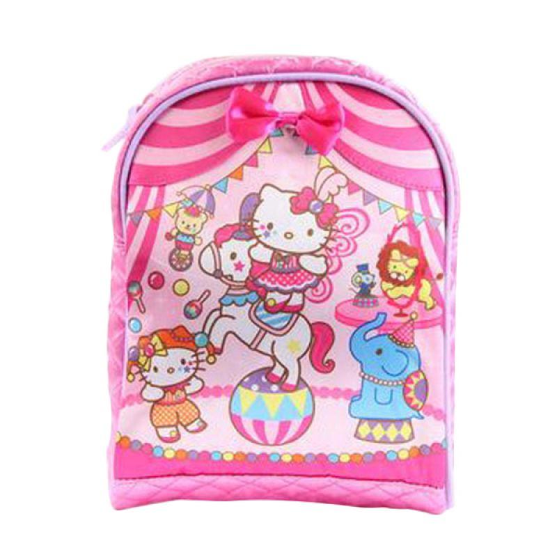Sanrio Hello Kitty in Circus Pink Tas Sekolah Anak