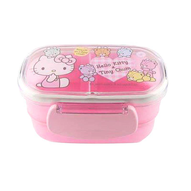 Sanrio Snack Box Hello Kitty Pink Kotak Makan
