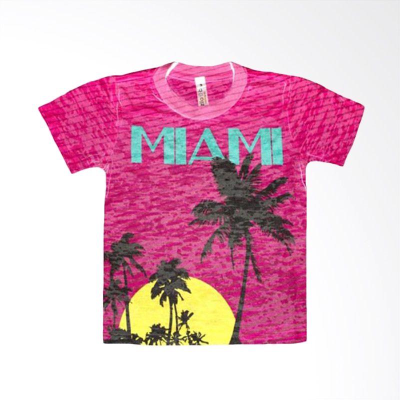 Stella Blu Clothing Miami Tee Pink