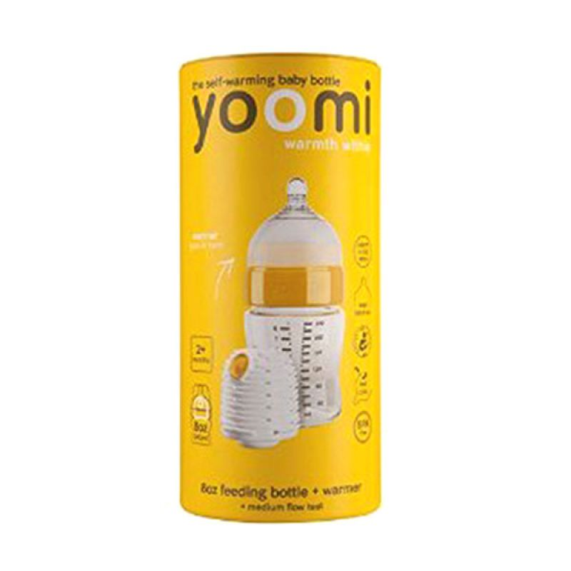 Yoomi Feeding Bottle 240ml+Warmer