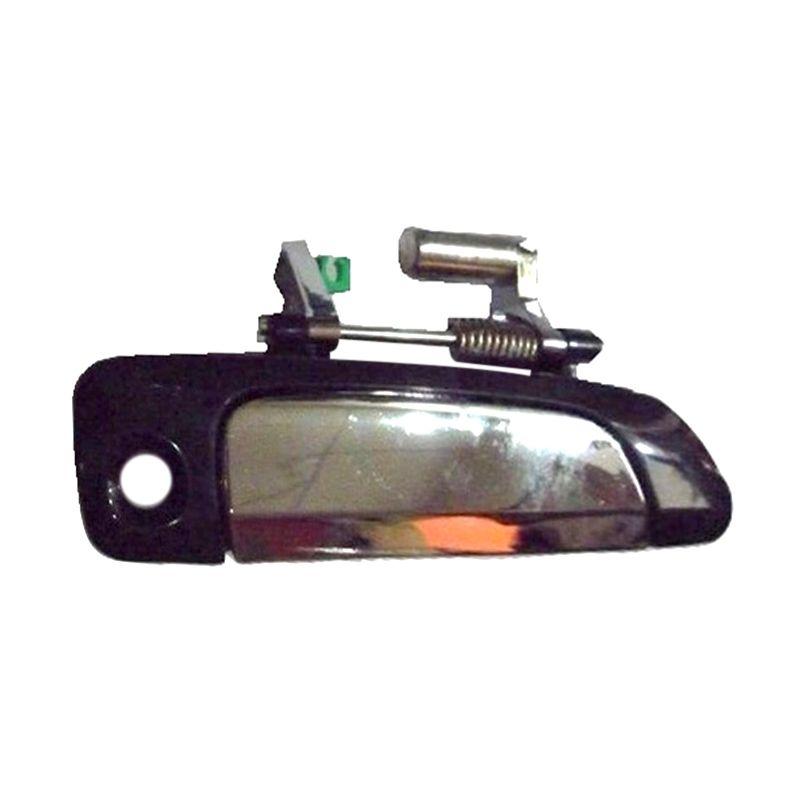 Sport Shot Black Chrome Outer Door Handle for Honda Jazz [Left Side]